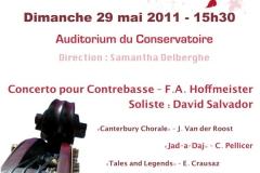 Concert de fin de saison 2011 (29/05/2011)