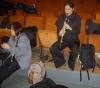de gauche à droite Li Ju TSENG et Claire GENET clarinettistes