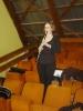Béatrice à la clarinette