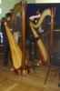 les harpistes hugo REGNIER et Pauline CARPENTIER