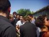 En tee-shirt clair Valentin NEVES avec à sa droite en foncé Yanis TIHIANINE