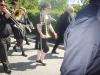 pas courant Rodolphe POTEZ au trombone!! à sa gauche Clémence BERGOT et Pascal LHONNEUX