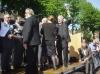 la joie de Pierre SAMARCQ et Samantha DELBERGHE lors de la remise des trophées, joie partagée avec les e